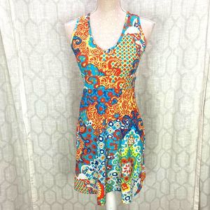 Jude Connally Sz XS Colorful Casual Dress